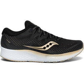 saucony Ride ISO 2 Sko Damer, black/gold